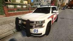 Chevy Tahoe police für GTA 4