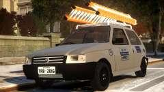 Fiat Uno com Escada für GTA 4