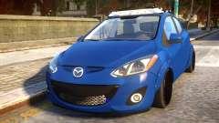 Mazda 2 DRIFT Car pour GTA 4