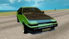 Toyota Sprinter Trueno АЕ85 pour GTA San Andreas