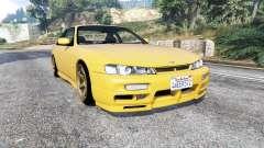 Nissan 200SX (S14a) 1996 v1.1 [replace] pour GTA 5