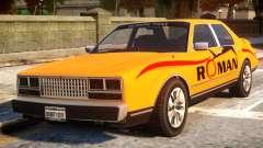 Rom Taxi pour GTA 4