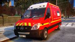 Mercedes Sprinter VSAV pour GTA 4