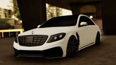 Mercedes-Benz S63 WALD Black Bison pour GTA San Andreas