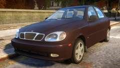 Daewoo Lanos Sedan SX US 1999 für GTA 4