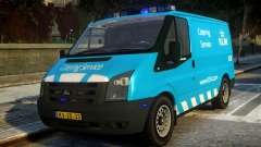 Ford Transit Catering Service KLM pour GTA 4