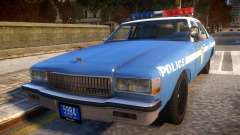 1985 Chevrolet Caprice NYPD Police pour GTA 4