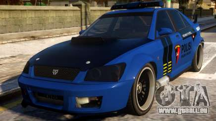 All New Karin Sultan Indonesia Police für GTA 4