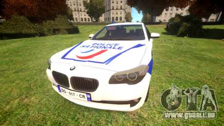 BMW Police Nationale pour GTA 4
