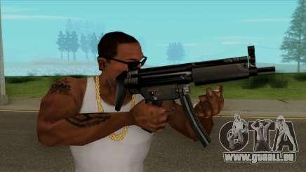 MP5 Default HQ für GTA San Andreas