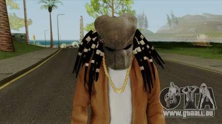 Predator Mask From Mortal Kombat X für GTA San Andreas