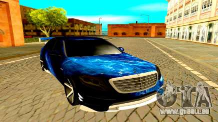 Mercedes-Benz W222 black für GTA San Andreas