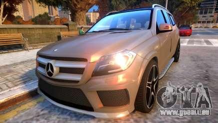 Mercedes Benz GL63 AMG Baku Style für GTA 4