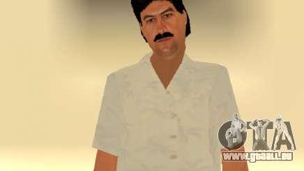 Pablo Emilio Escobar par MFR pour GTA San Andreas