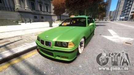 BMW E36 Street Tuning pour GTA 4