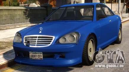 Mercedes-Benz Schafter Conversion pour GTA 4