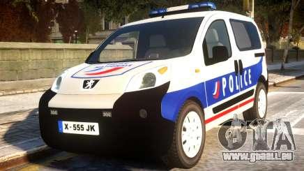 Peugeot Bipper Police für GTA 4