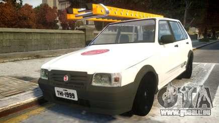 Fiat Uno Mille De Firma pour GTA 4