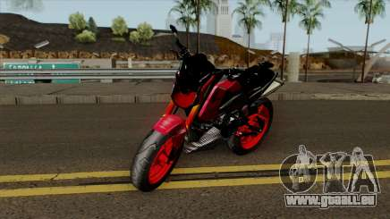 Honda MSX Modified red für GTA San Andreas