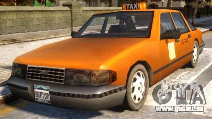 GTA III Taxi for IV v1.0 für GTA 4