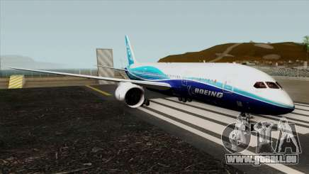 Boeing 787-8 Boeing House Colors pour GTA San Andreas
