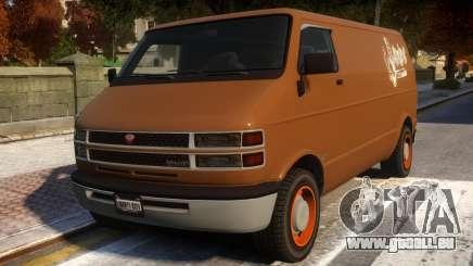 Bravado Youga Commercial Van pour GTA 4