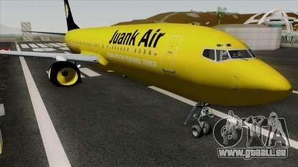 Boeing 737-800 Juank Air für GTA San Andreas