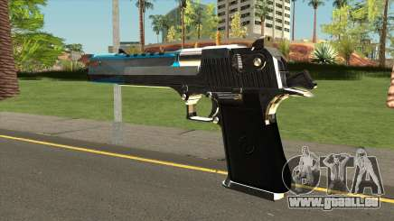 Chrome Eagle Blue für GTA San Andreas