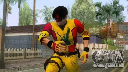 Masked Leon Skin v2 pour GTA San Andreas
