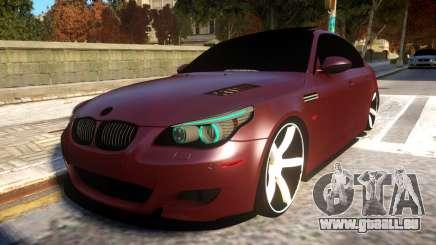 BMW E60 Realistic Vossen Wheel pour GTA 4