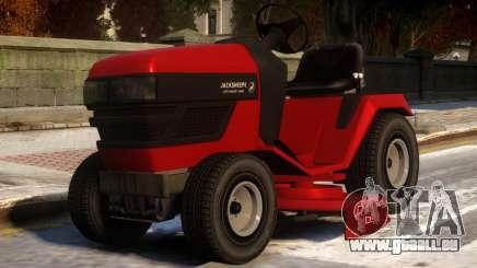 Jacksheepe Lawn Mower pour GTA 4