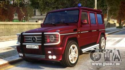 Mercedes-Benz G55 AMG v1.1 pour GTA 4