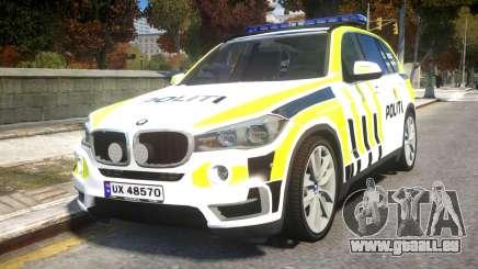 BMW X5 Norwegian Police pour GTA 4