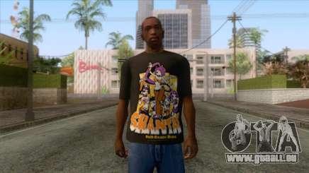 Shantae T-Shirt 1 für GTA San Andreas