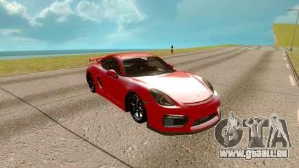 Porsche Cayman 2017 für GTA San Andreas