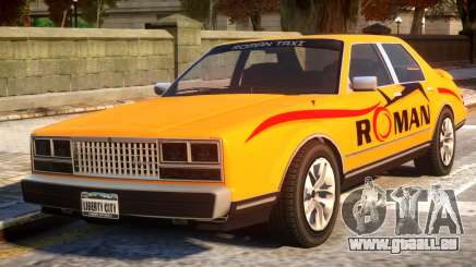 Rom Taxi für GTA 4