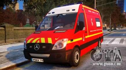Mercedes Sprinter VSAV für GTA 4