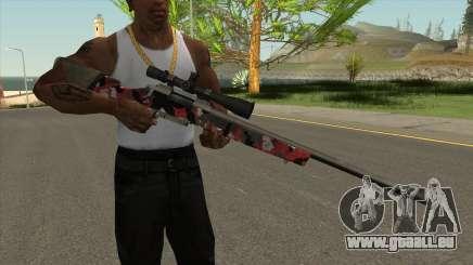 Nouveau fusil de sniper pour GTA San Andreas