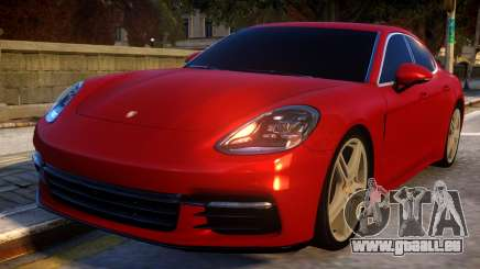 Porsche Panamera 2017 pour GTA 4
