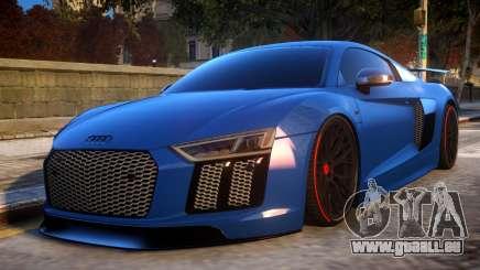 Audi R8 2017 pour GTA 4