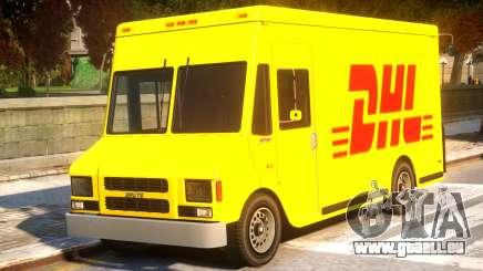DHL TNT Skins for Boxville pour GTA 4