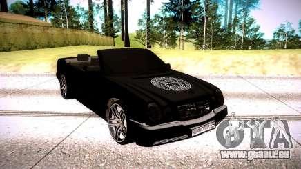 Mercedes-Benz W210 5.5 pour GTA San Andreas