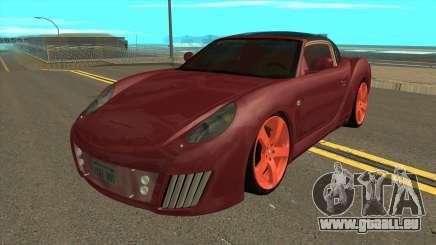 Rinspeed zaZen Concept 2006 IVF pour GTA San Andreas