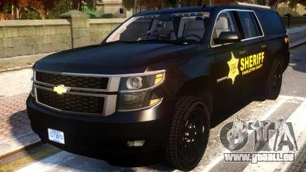 2015 Suburban Target Zero Units Police für GTA 4