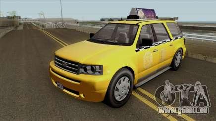 GTA V Vapid Taxi für GTA San Andreas