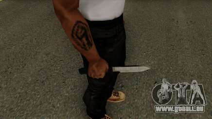 Knife Default HQ für GTA San Andreas