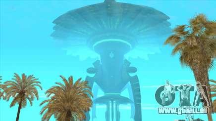 UFO Vossk Station GOF2 für GTA San Andreas