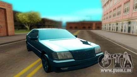 Mercedes W140 Brabus 7.3S pour GTA San Andreas