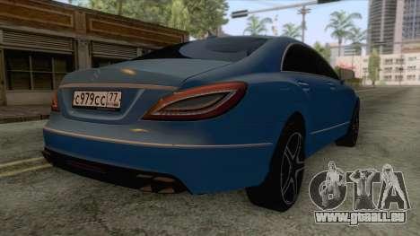 Mercedes-Benz CLS 63-AMG für GTA San Andreas rechten Ansicht