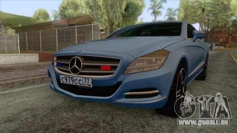 Mercedes-Benz CLS 63-AMG für GTA San Andreas
